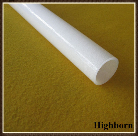 One End Closed Milky White Quartz Glass Sleeve pictures & photos