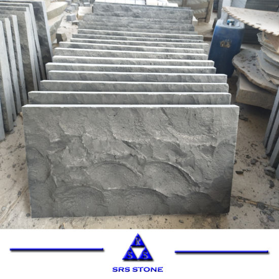 China Black Basalt Natural Paver/Paving Stone/Wallstone/ Wall Stone Cladding for Exterior Decoration