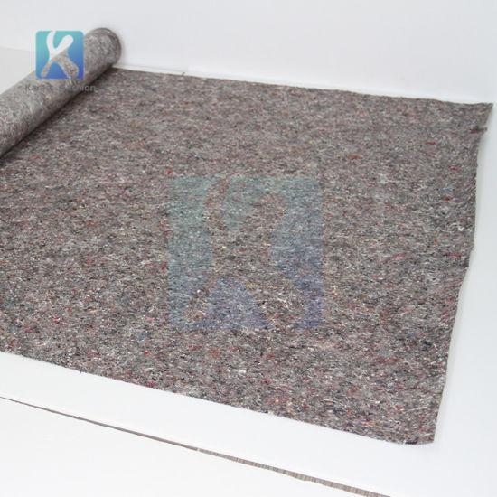 Painter's Water Resistant Fleece Mat with Anti-Slip Foil