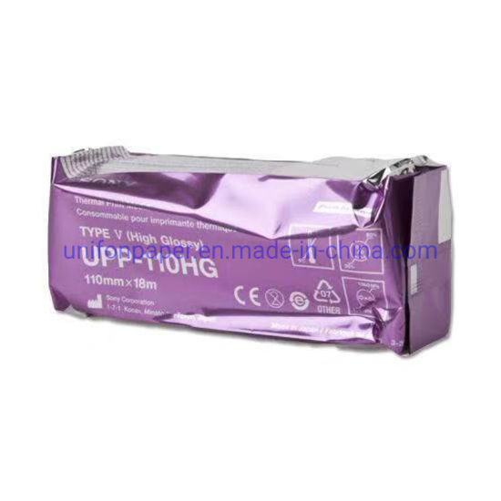 Glossy Thermal Upp-110hg Paper for Sony MD400 Ultrasound Machine