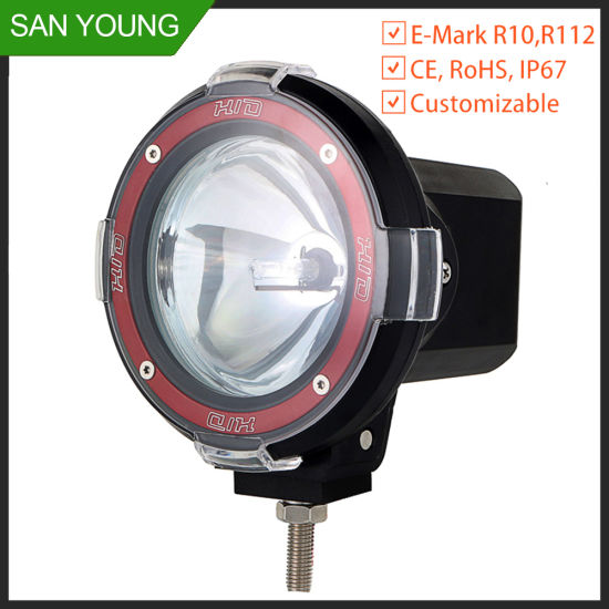 Car Xeono HID Driving Light for Automobile Trucks Working HID Work Light Working