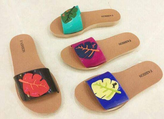 Pvcplastic Slipper of Women 2018 Summer