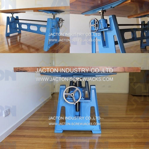 Jack Lifting Screw Lift Tables Hand Crank Lift Systems Lifting Device Hand Crank Table Lift Desk Manual Lift Table
