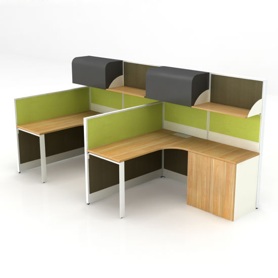 Modern Office Desk 2 Person Office Workstation
