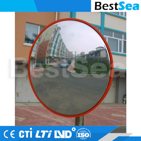 China Factory Flexible Plastic Round Acrylic Convex Mirror pictures & photos