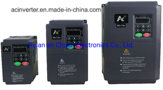 Anchuan Single Phase 3 Phase AC Electronic Frequency Converter 50Hz/60Hz, 220V 380V 440V AC VFD (AC600L1.5GB)