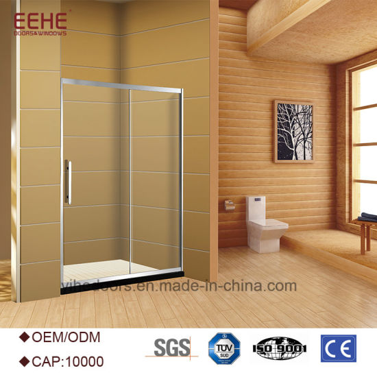 China Bathroom Double 2 Sided 6mm Enclosed Clear Mini Shower ...