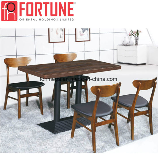 China Modern New France Style Wood Restaurant Dining Chairs