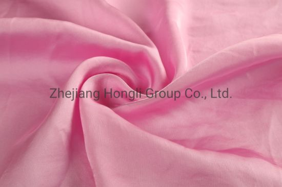 Fashion 50d Polyester Satin Fabric with Crinkle Effect