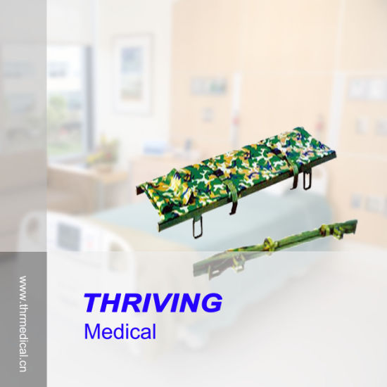 Hot Sales Hospital Aluminum Alloy Foldaway Stretcher (THR-1C) pictures & photos