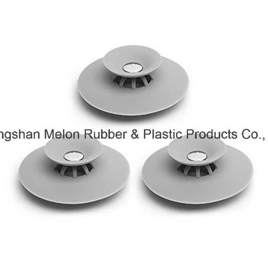 China Silicone Drain Stopper Soft Silicone Sink Strainer Drain Hair ...