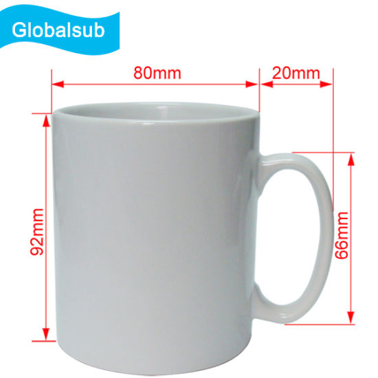 11oz Blank Ceramic Matte Sublimation Mugs pictures & photos
