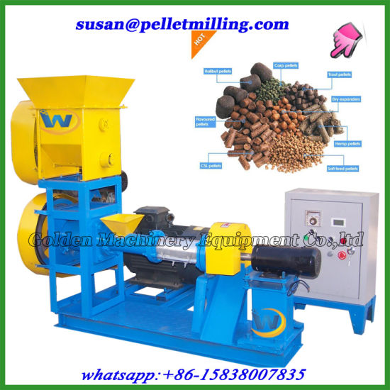 Floating Aquatic Animals Fish Feed Extruder Pellet Mill Machine pictures & photos