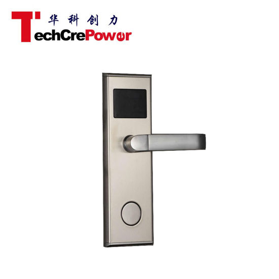 L518/528-TCP ANSI 5 Intelligent Termic Card Door Lock Hotel RFID Card Door Lock pictures & photos