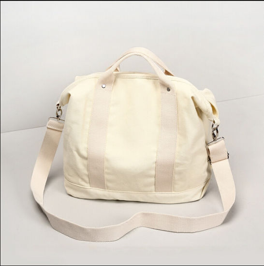 China Pure Color Long Strap Shoulder Canvas Tote Bags 488a77e60a4a