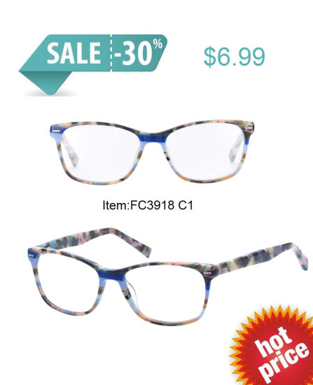Best Selling Fashion Special Acetate Optical Frame pictures & photos