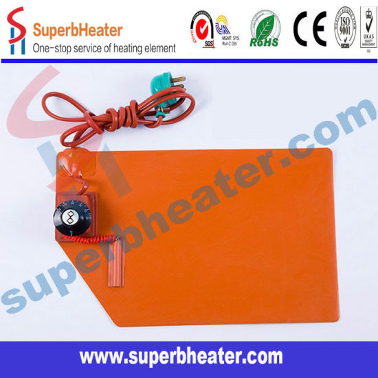 Silicone Rubber Heater Solar Powered Portable Heater 12V