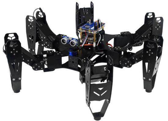 Six Foot Robot 6-Legged Robot Hexapod Spider Robot Frame Kit Hyundai Toys