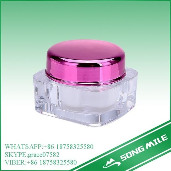 5g Acrylic Square Cream Jar for Cosmetic pictures & photos