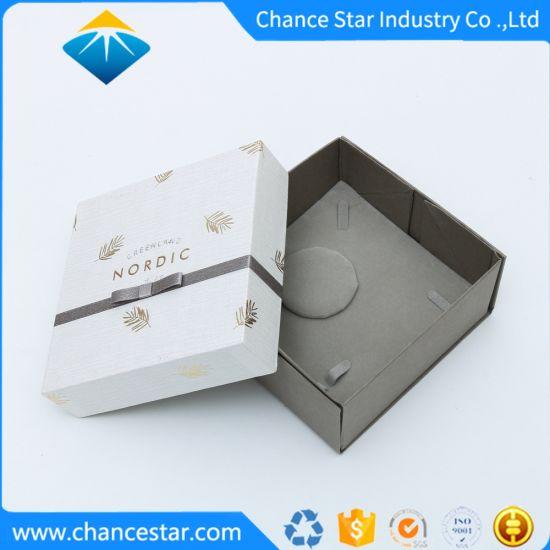 Custom Printed Texture Paper Cardboard Jewellery Gift Packing Box