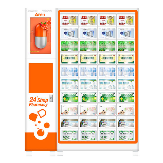 Afen New Design Smart Supermarket Locker Vending Machine for Medical Suppies