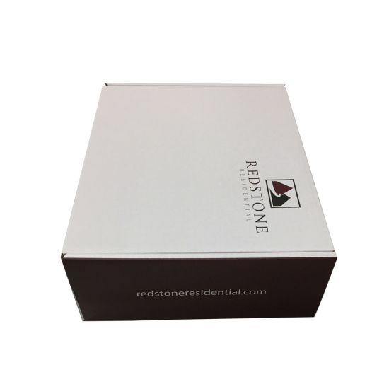 Shipping Customized Corrugated Matte Black Gift Box Wholesale pictures & photos