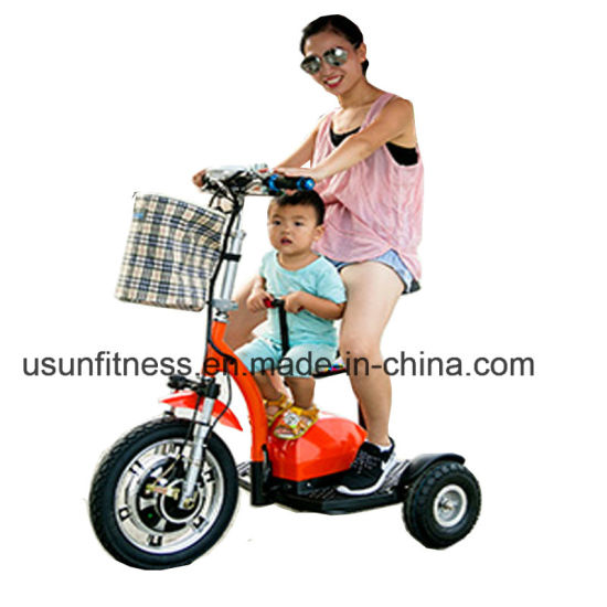 2018 Cheap Three Wheels Foldable Electrical Scooter Trikke Mobility Scooter Electric Bicycle pictures & photos