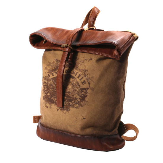 8f3d908fc6 China New Canvas Laptop Backpack Bag - China Canvas Backpack