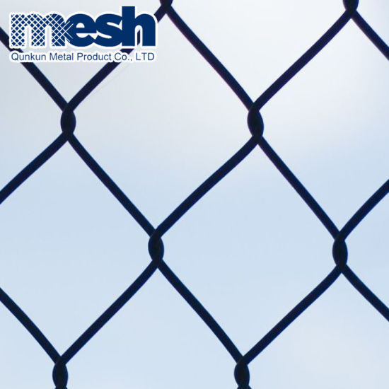 Used Galvanized Chain Link Fence Wire Mesh Fence for Sale