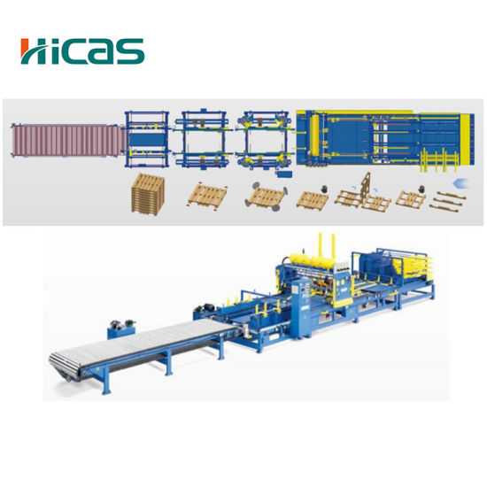 China Automatic Wood Pallet Manufacturing Equipment ...