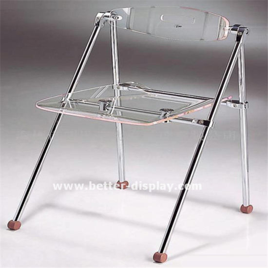 Clear Acrylic Plastic Folding Chair pictures & photos