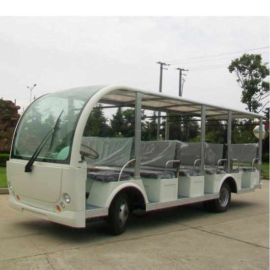 23 Seater Open Side Electric Recreational Vehicle Dn Pictures Photos