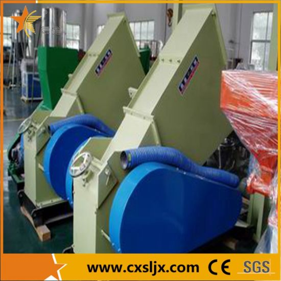 China Swp Series PVC Pipe Crusher with Blowing Silo - China