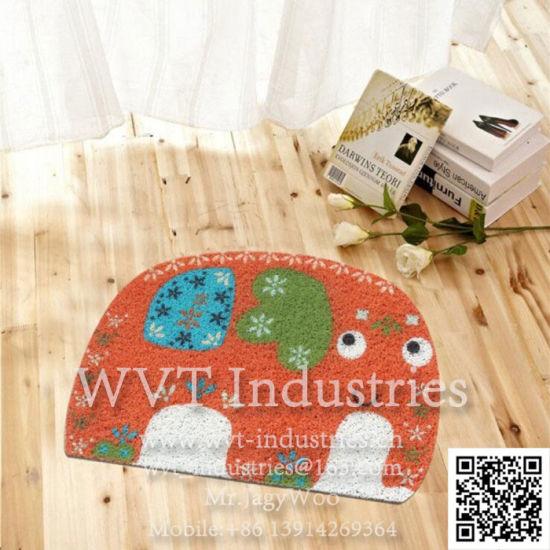 Eco-Friendly PVC Non-Slip Doormat /Welcome Mat/Floor Mat/Bathroom Mat/Car Foot /Rubber Mat