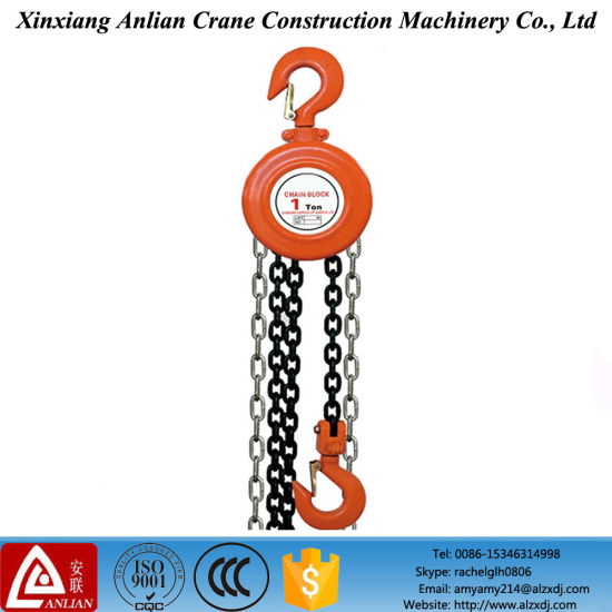 [Hot Item] 3 Ton Hsz Type Construction Manual Hand Chain Hoist