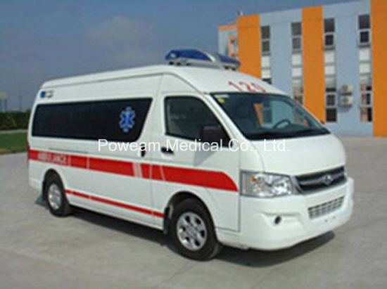 ISO, CE Approval Joylong Ambulance (4EHJX0305LKH) pictures & photos