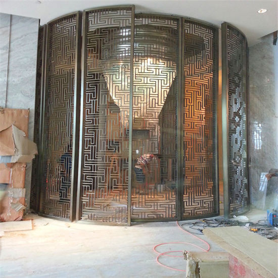 Construction Building Stainless Steel Dubai Room Divider Screen Metal Work Project pictures & photos