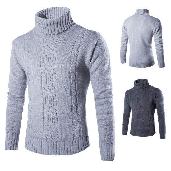 China New Korean Sweater Knitting Pattern Pullovers Men Sweater