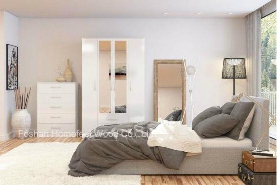 China Pure White Gloss Bedroom Set (HF-EY0552) - China ...