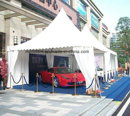 White PVC Canvas Pagoda Tent for Car Garage 5m*5m pictures u0026 photos & China White PVC Canvas Pagoda Tent for Car Garage 5m*5m - China Car ...