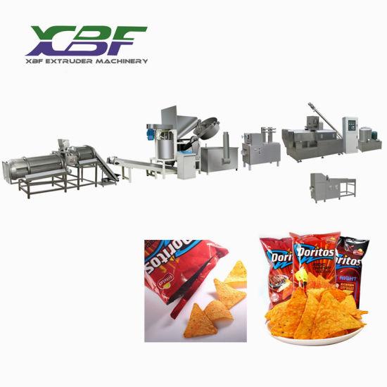 Fried Doritos Chips Snacks Food Pellet Equipment