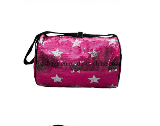Dance Bag With Garment Rack Awesome China Fancy Star Pattern Sequin Rolling Dance Bag For Girls China