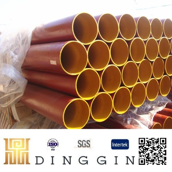 China En877 Cast Iron Pipe and Fittings with Epoxy Paint - China