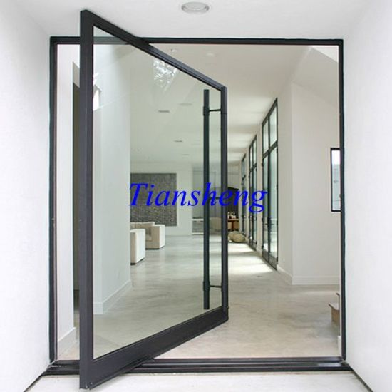 Customized Aluminium Center Pivot Door & China Customized Aluminium Center Pivot Door - China Door Pivot Door