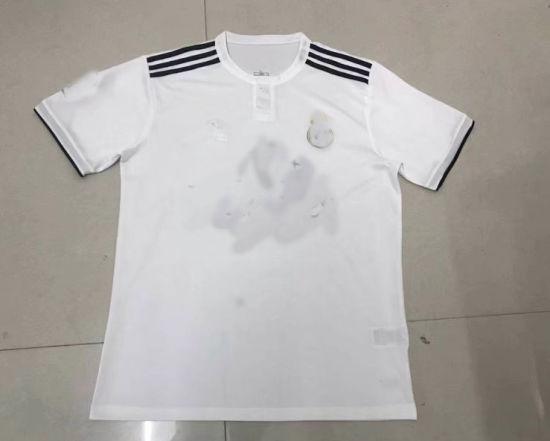 ae60a8571 2018 2019 Real Madrid Home White Soccer Jerseys Woman Fashion Football  Tshirts