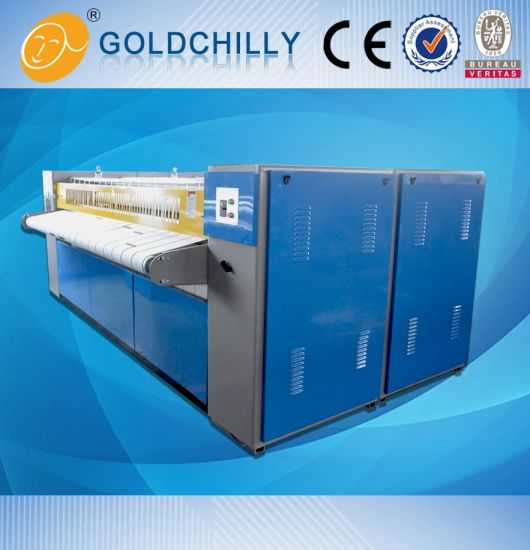 High Speed Flatwork Feeding Machine / Ironer -4 Roller pictures & photos