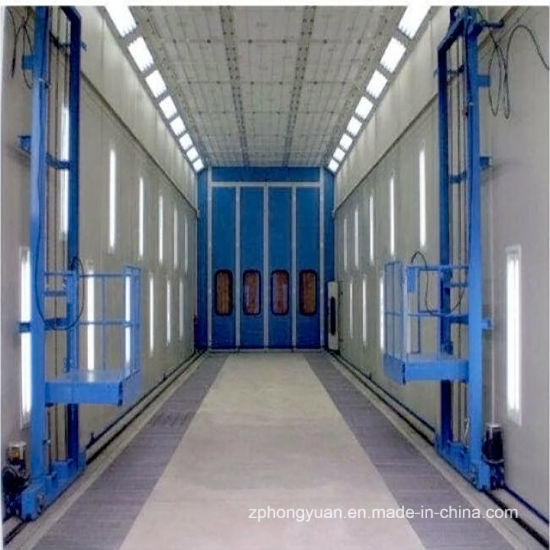 Bus Spraying Booth with 3-D Lift for Sale with Hongyuan Brand