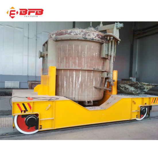 High Quality Conducting Rail Powered Flat Railway Cart Installation Drawing pictures & photos