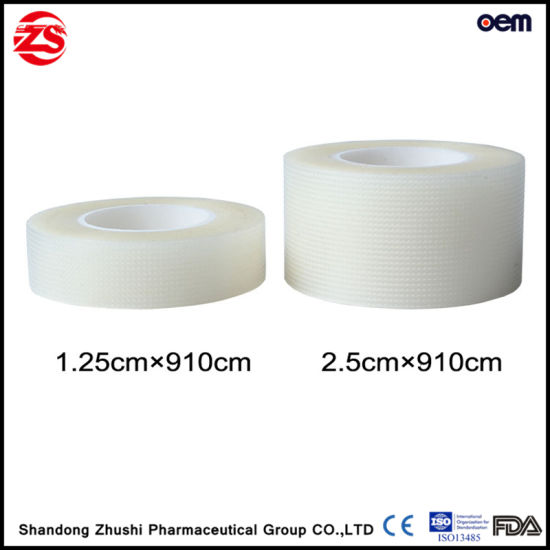 Breathable Hypoallergenic Latex Free Waterproof Medical Adhesive Tape pictures & photos