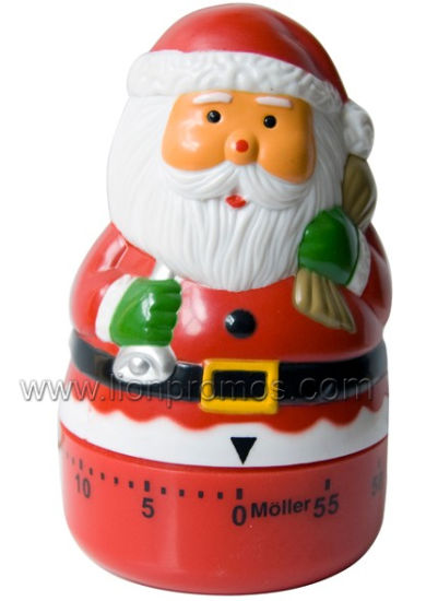 Christmas Marketing Season Promotional Gift Michanical Kitchen Timer pictures & photos